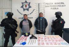 tienda oxxo, asalto, antecedentes penales, asegurados, robo, dinero, efectivo, san pedro cholula, código rojo