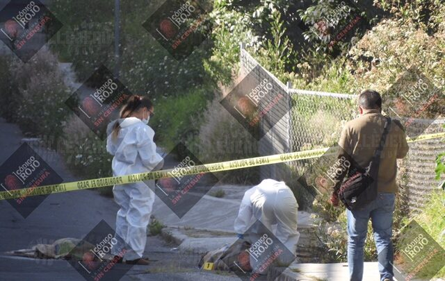 Cadáver, embolsado, cobija, puente, Joaquín Colombres, Protección Civil, FGE, gorra, tablas, bulto de cemento,