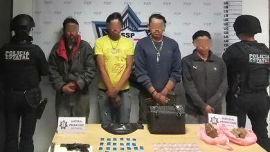 banda delictiva, los popeyes, detenidos, robo, antecedentes penales, narcomenudeo, la resurrección, código rojo