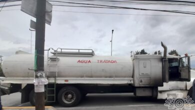 pipa, aguas residuales, policía estatal, permiso, ausente, aseguramiento, soapap, código rojo