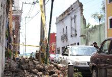Barrio de La Luz, barda, vehículo, San José, derrumbe, accidente, casona