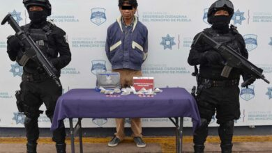 san ramón, detenido, drogas, ssc, fge, cristal, marihuana, código rojo