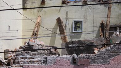 colonia san francisco, barda, caída, techo, personas, reporte, peritajes, código rojo