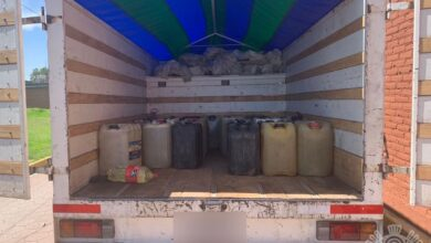 SSP, combustible, San Antonio Mihuacán, mototaxis, garrafas, detenido